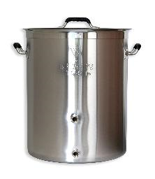 16 GALLON BEAST BREWING KETTLE w/TWO PORTS