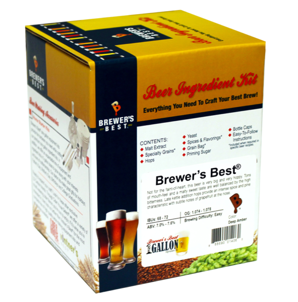 -- Brewer's Best One Gallon Ingredient Kits