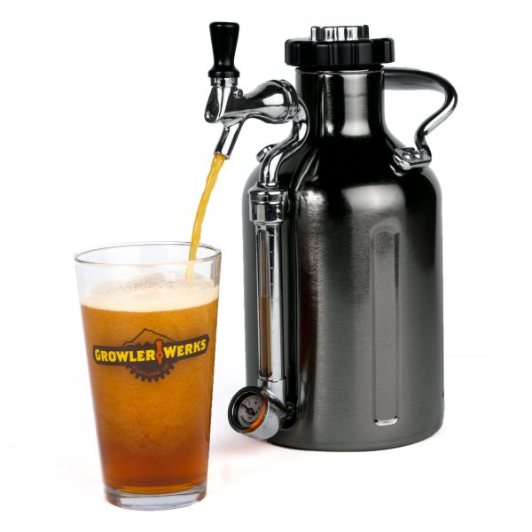 Ukeg 64 – Black Chrome Growler
