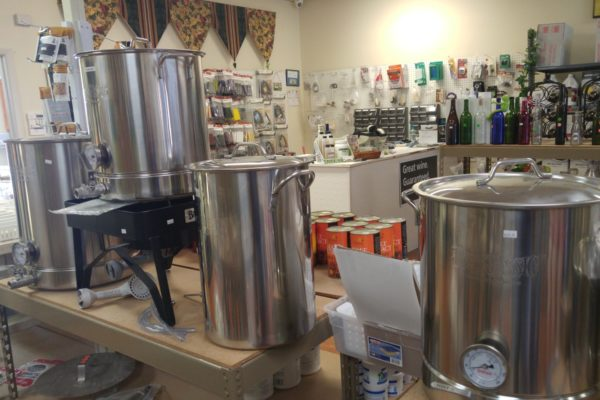 - Brewing and Boiling Pots