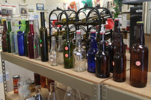 - Beer and Wine Bottles