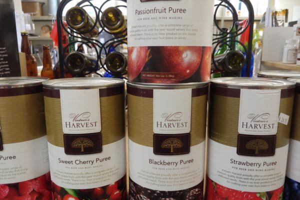 - Vitner's Harvest Fruit Purees