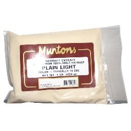 PLAIN LIGHT Muntons DSM 1 lb.