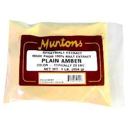 PLAIN AMBER Muntons DSM 1 lb.