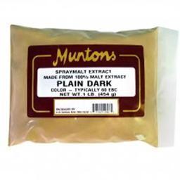 PLAIN DARK  Muntons DSM 1 lb.