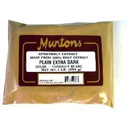 PLAIN EXTRA DARK  DSM Muntons 1 lb.
