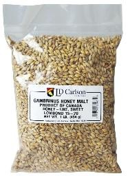 HONEY MALT -Gambrinus 1 lb.