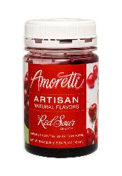 AMORETTI® RED SOUR CHERRY ARTISAN FRUIT PUREE 8 OZ