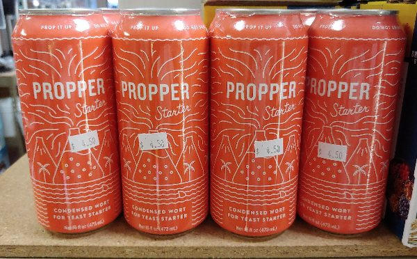 PROPPER STARTER – Yeast Starter