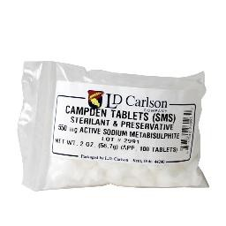 Campden Tablets – 100 count