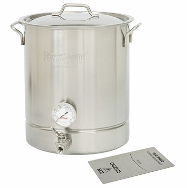 Bayou Classic – 16 gallon Stainless Steel Kettle Set – 6 piece