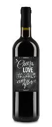 CHEERS TO LOVE WEDDING WINE LABELS