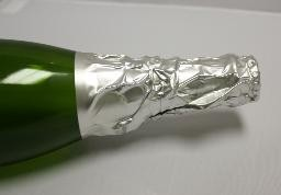 Champagne Foils – Silver