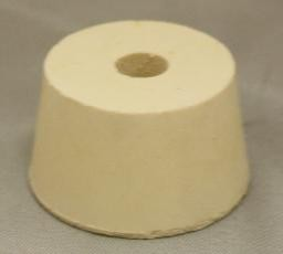 No. 8.5 Pure White Gum Laboratory Stoppers – Drilled