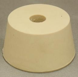 No. 9.5 Pure White Gum Laboratory Stoppers – Drilled