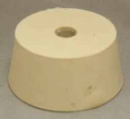 No. 10.5 Pure White Gum Laboratory Stoppers – Drilled