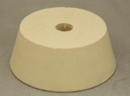No. 11.5 Pure White Gum Laboratory Stoppers – Drilled