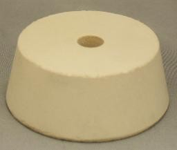 No. 12 Pure White Gum Laboratory Stoppers – Drilled