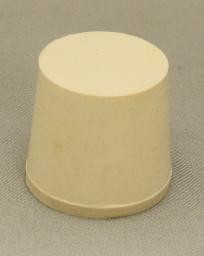 No. 5.5 Pure White Gum Laboratory Stoppers – Solid