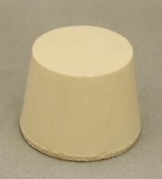 No. 6.5 Pure White Gum Laboratory Stoppers – Solid