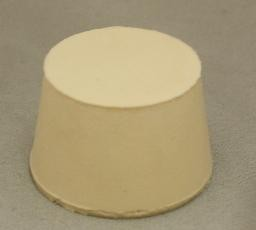 No. 7 Pure White Gum Laboratory Stoppers – Solid