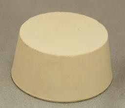 No. 10 Pure White Gum Laboratory Stoppers – Solid