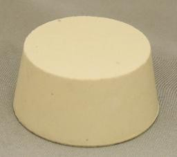 No. 10.5 Pure White Gum Laboratory Stoppers – Solid