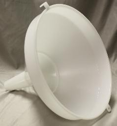 10″ Nylon Filtering Funnel With Strainer