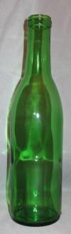 375 ml Emerald Green Semi-Burgundy Bottles