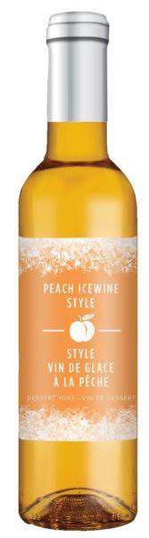 Peach Icewine Dessert Wine